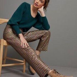 Anthropologie Slim Straight Pants - Size 12 (NWT)